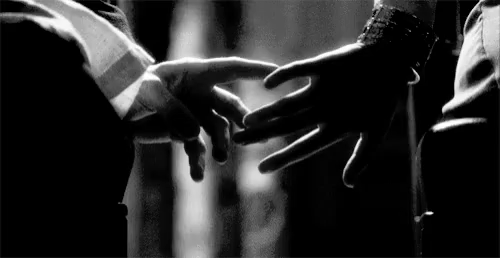 touch the hand of love
