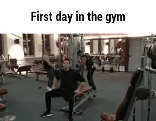A nasty gym encounter