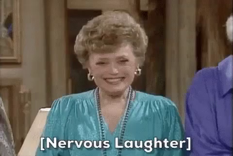 Nervous Laughter GIFs | Tenor