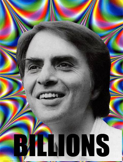 Carl Sagan GIF - Carl Sagan Billions - Discover & Share GIFs