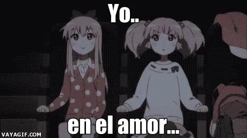 Yo En El Amor Anime Gif Yoenelamor Anime Love Discover Share Gifs