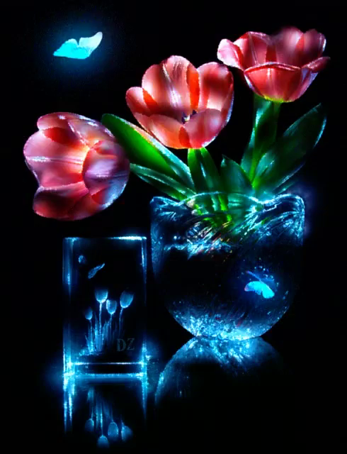 Butterflies Flowers Gifs Tenor