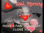 Good Morning Have AFantastic Day GIF - GoodMorning HaveAFantasticDay Coffee GIFs