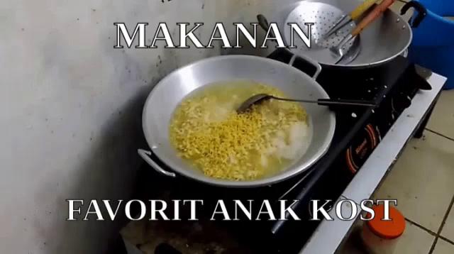 Makanan Favorit Anak Kosst Gif Masakmie Rebusmie Anakkosan