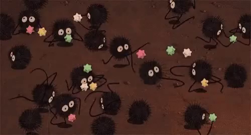 Spirited Away Soot Sprites Gifs Tenor