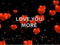 Love You More Valentines GIF - LoveYouMore Valentines Hearts GIFs