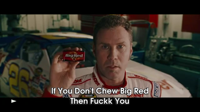 If you dont chew big red then fuck you