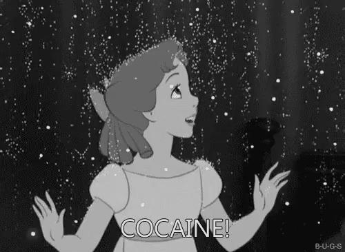 Tits cocaine gif