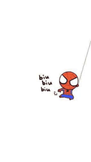 Spiderman Biu GIF - Spiderman Biu Cute - Discover & Share GIFs