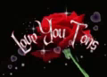 Love You Tons Love You Rose GIF - LoveYouTons LoveYouRose LoveYouHearts GIFs