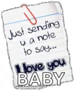 ILove You Baby GIF - ILoveYou Baby Note GIFs
