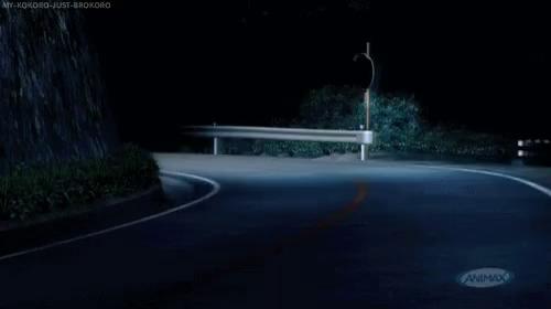 Initial D Subaru GIF