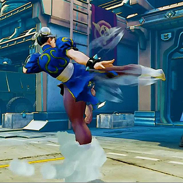 Chun Li Kicks Gifs Tenor