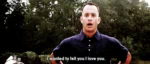 From The Bottom Of My Heart GIF - TomHanks ForrestGump ILY GIFs