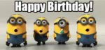Minions Birthday GIF - Birthday Happybirthday Gif GIFs