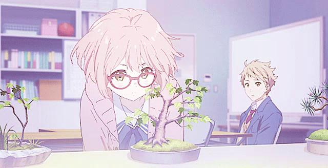 Bonsai Anime Gif Bonsai Anime Girl Discover Share Gifs