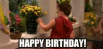 Happy Birthday! GIF - Birthday Flowers GIFs