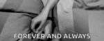 Forever And Always Holding Hands GIF - ForeverAndAlways HoldingHands Joy GIFs