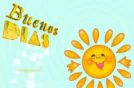 Buenos Días Good Morning GIF - BuenosDías GoodMorning Sun GIFs