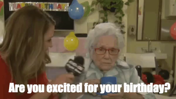 Happy Birthday Old Woman GIFs   Tenor