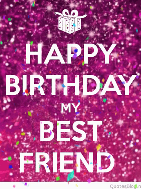 Brilliant Happy Birthday Best Friend Gifs Tenor Personalised Birthday Cards Veneteletsinfo