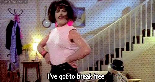 freddie mercury i want you break free