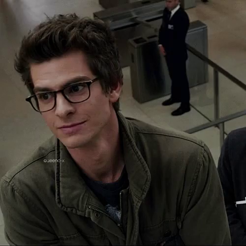 Peter Parker Andrew Garfield Gif Peterparker Andrewgarfield Smiling Discover Share Gifs