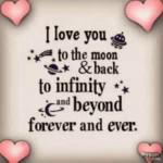 ILove You To The Moon And Back ILove You Forever GIF - ILoveYouToTheMoonAndBack ILoveYouForever Infinity GIFs