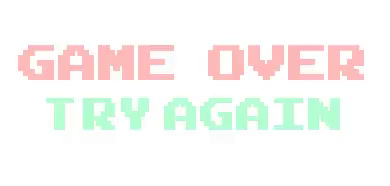 Game Over GIF