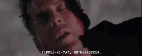 Yippe mother fucker