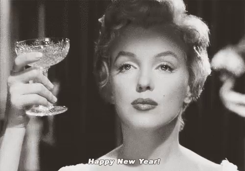 happy new year marilyn monroe gif happynewyear marilynmonroe gifs