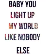 Baby You Light Up My World ILY GIF - BabyYouLightUpMyWorld ILY ILoveYou GIFs