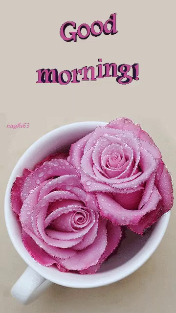 Animated pink roses gifs tenor good morning pink roses gif goodmorning pinkroses gifs mightylinksfo