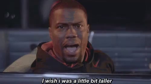 Kevin hart i wish i was a little bit taller