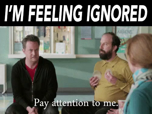 Being Ignored GIFs | Tenor
