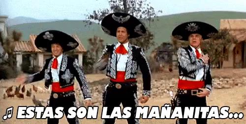 Estas Son Las Mananitas Gif Los3amigos Lasmananitas Discover