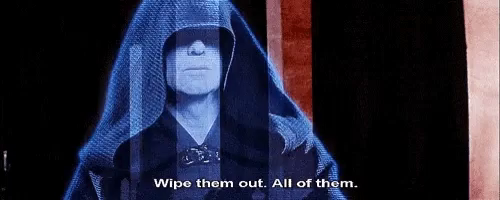 Image result for all of them palpatine