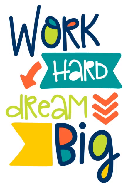 Work Hard Dream Big GIF - WorkHard DreamBig Conentrix - Discover ...