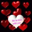 So In Love With You Heart GIF - SoInLoveWithYou Heart Bounce GIFs
